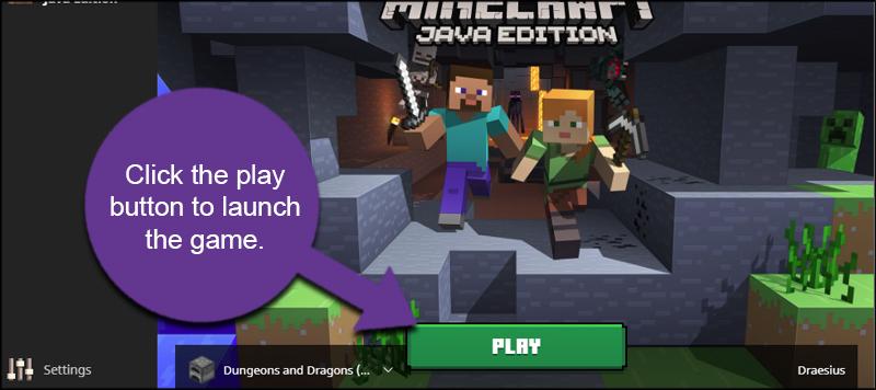 Launch Minecraft