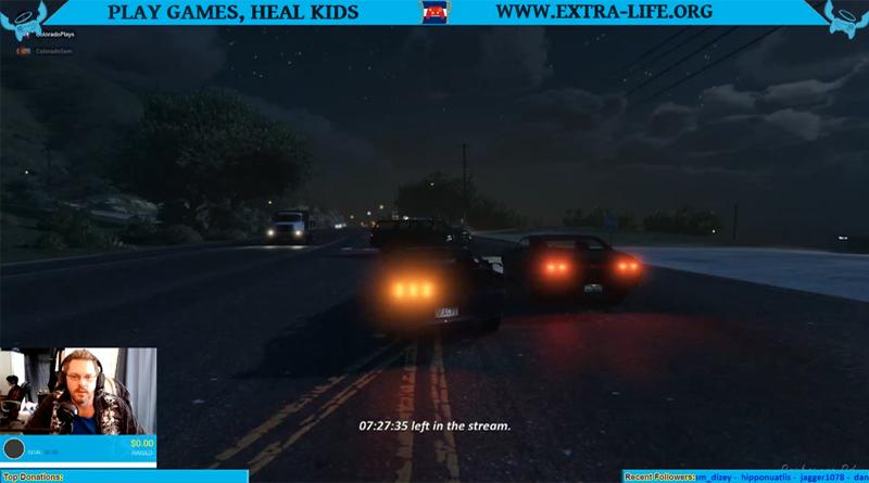 Extra Life 2019 GTA V