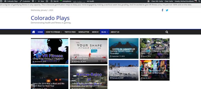 ColoradoPlays Blog