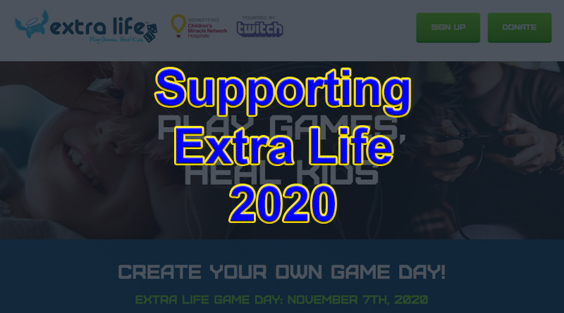 Extra Life In 2020