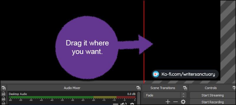 Move Stream Alert Box