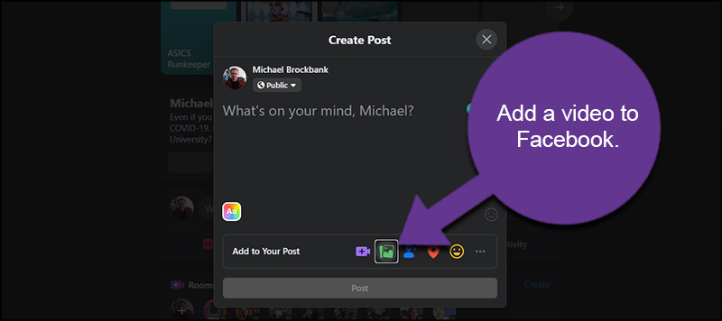 Add Video to Facebook