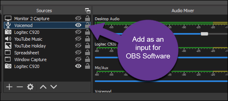 Voicemod and OBS