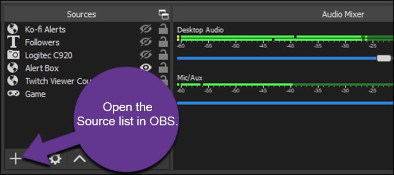 OBS Source List
