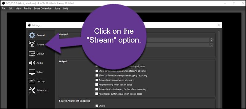 Stream Option