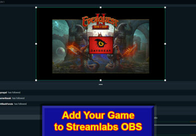 Game to Streamlabs OBS