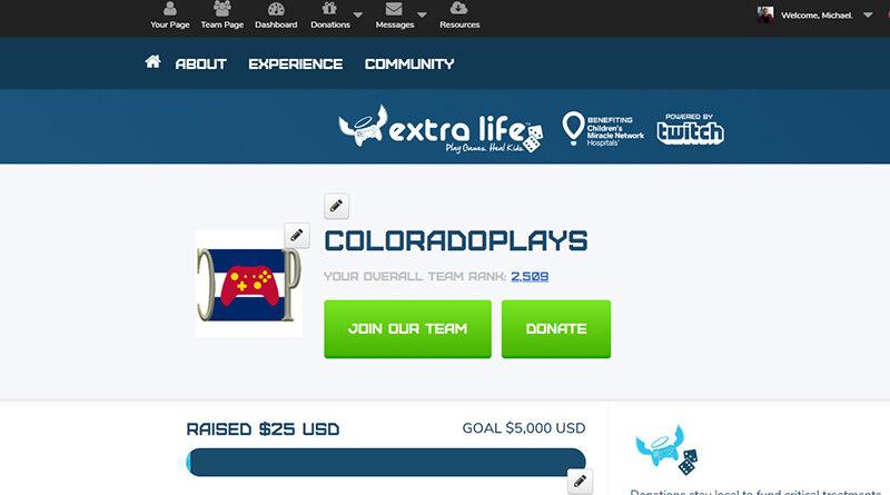 Extra Life 2020