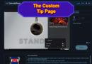 Streamlabs Prime Custom Tip Page