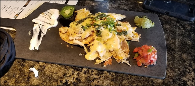 Topgolf Thornton Nachos