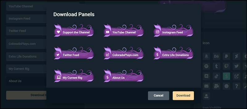 Download Panels