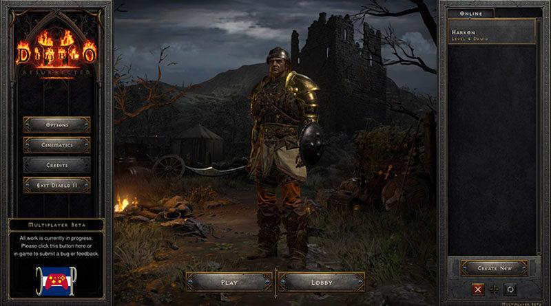 Diablo II Resurrected Beta