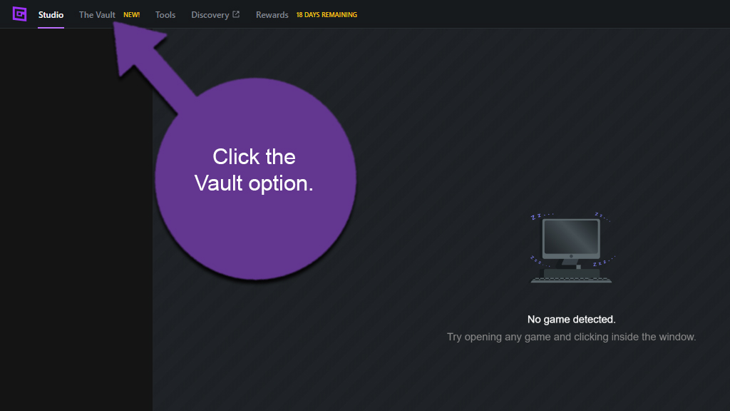 Access the Vault