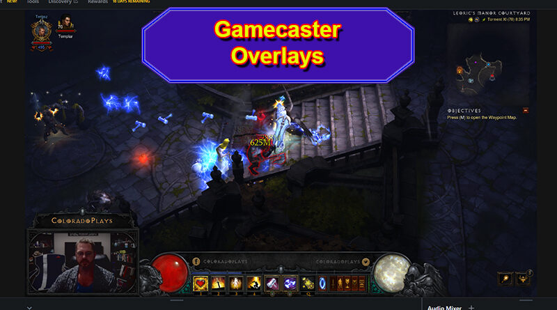 Add a Gamecaster Overlay