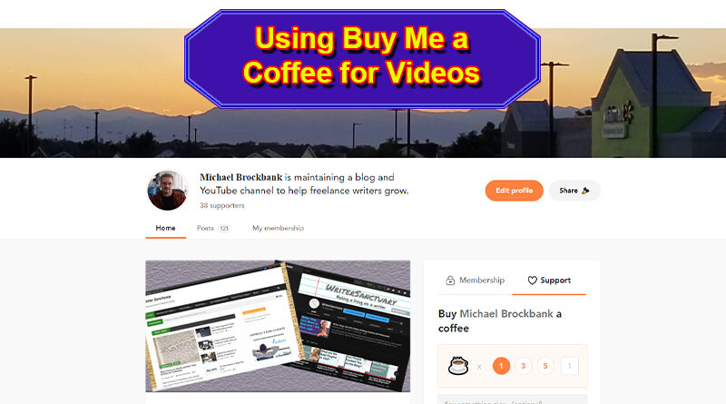 Adding Buy Me a Coffee to Videos
