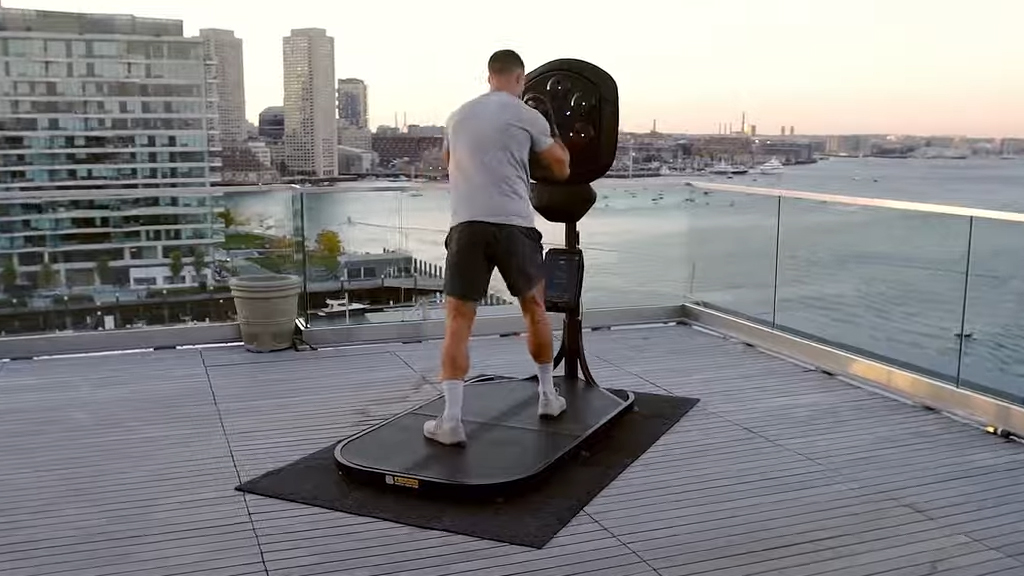 Boxing on a Roof