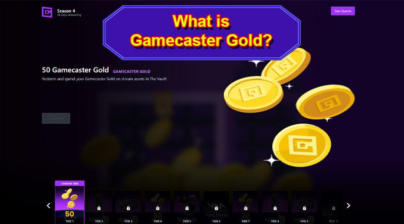 Gamecaster Gold in App