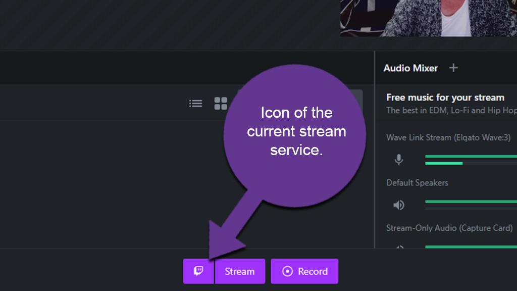 Stream Service Icon
