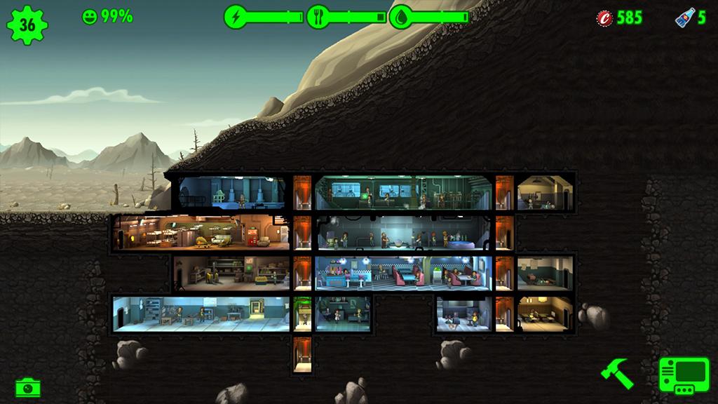 Vault Building